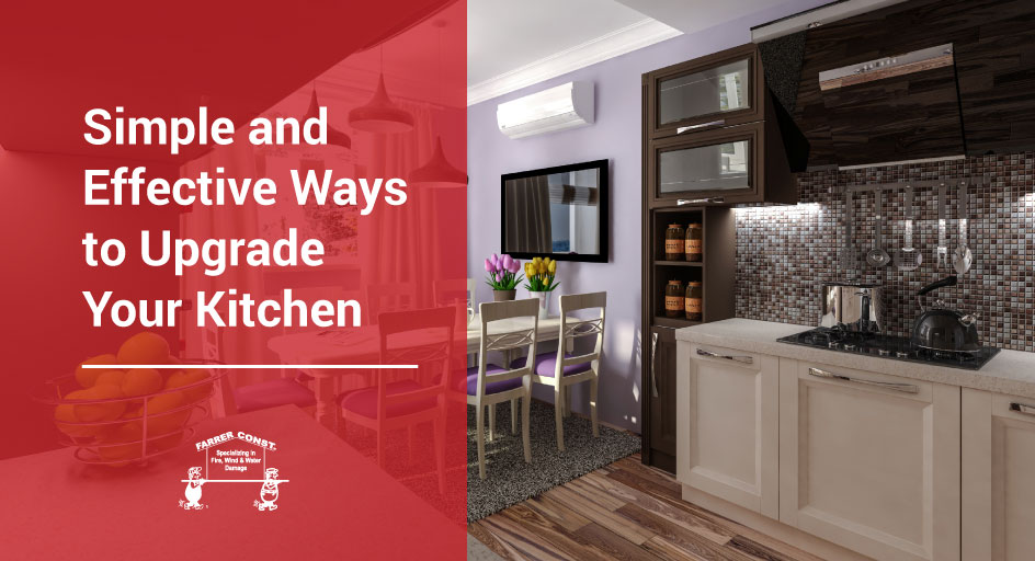 Simple and Effective Ways to Upgrade Your Kitchen